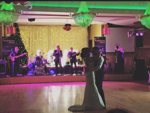 sugartown road band wedding first dance in the Carrickdale Hotel, First Dance, Sugar town road, ni live wedding band sugar town